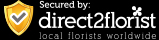 Checkout securely with Direct2Florist